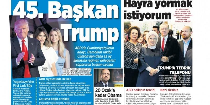 10 Kasım Perşembe gazete manşetleri