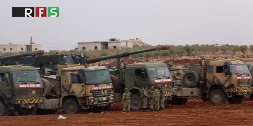 Türk tankları El Bab sınırında