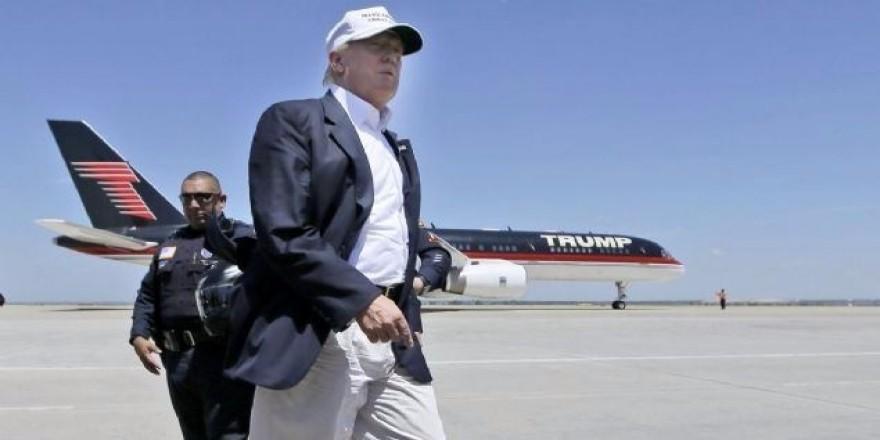İşte Donald Trump'ın özel uçağı