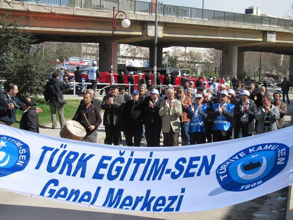 Türk Eğitim-Sen 13 Mart Mitingi 2