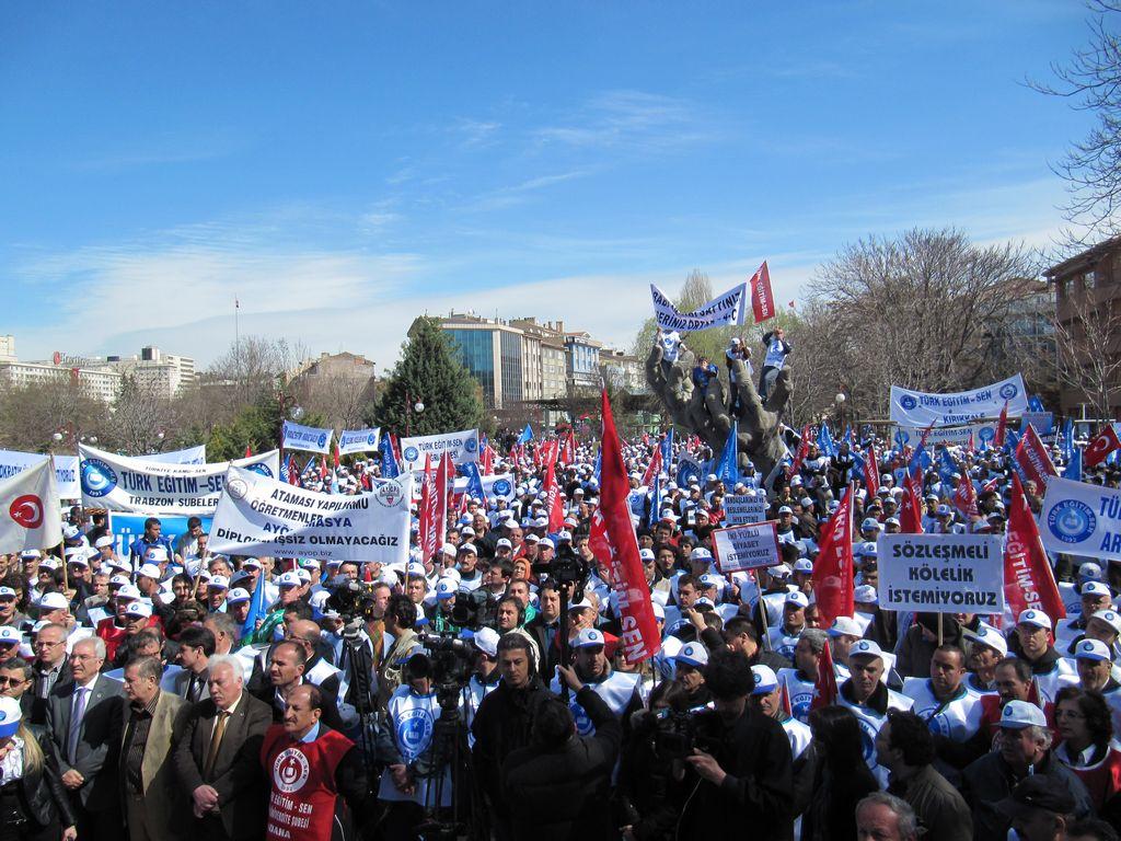 Türk Eğitim-Sen 13 Mart Mitingi 20