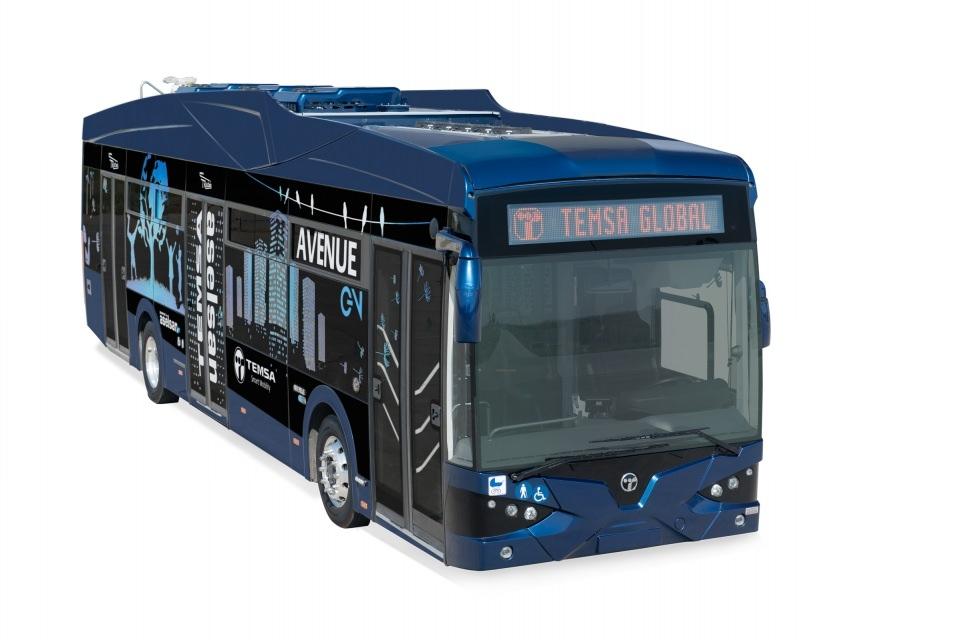 İşte Türkiye'nin ilk yerli elektrikli otobüsü 1