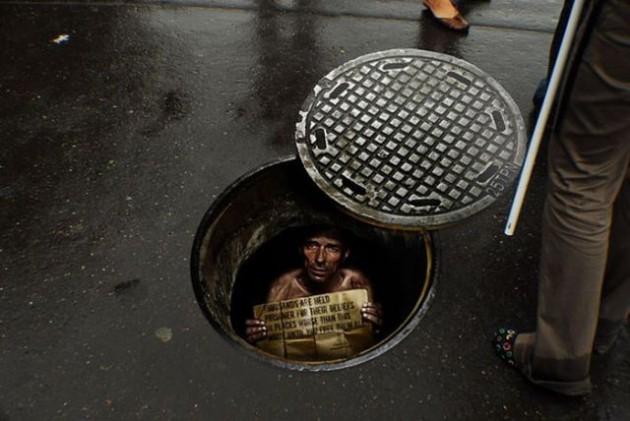 Sıradışı sokak reklamları 1