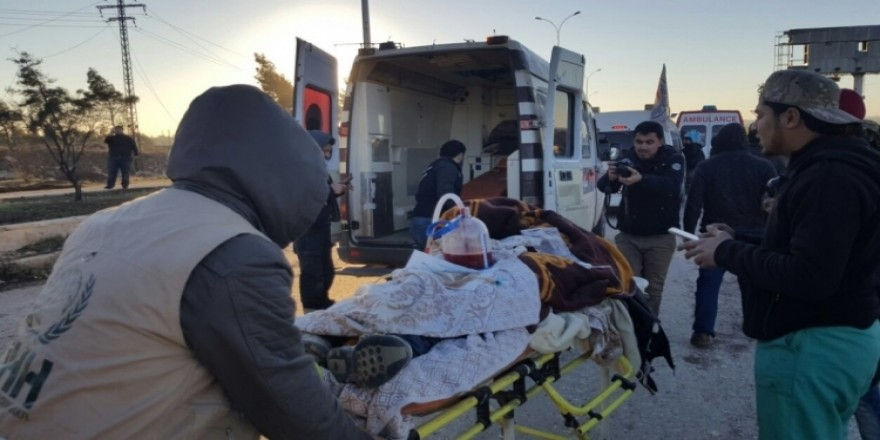 Halep'teki zulümden kurtulan ilk konvoy