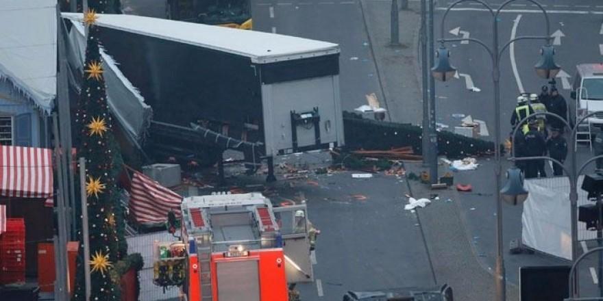 Almanya'daki saldırının şiddeti gün ağarınca ortaya çıktı!
