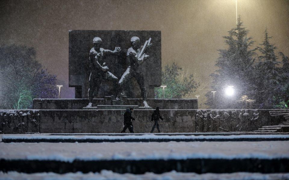 Türkiye'den muhteşem kar manzaraları 1