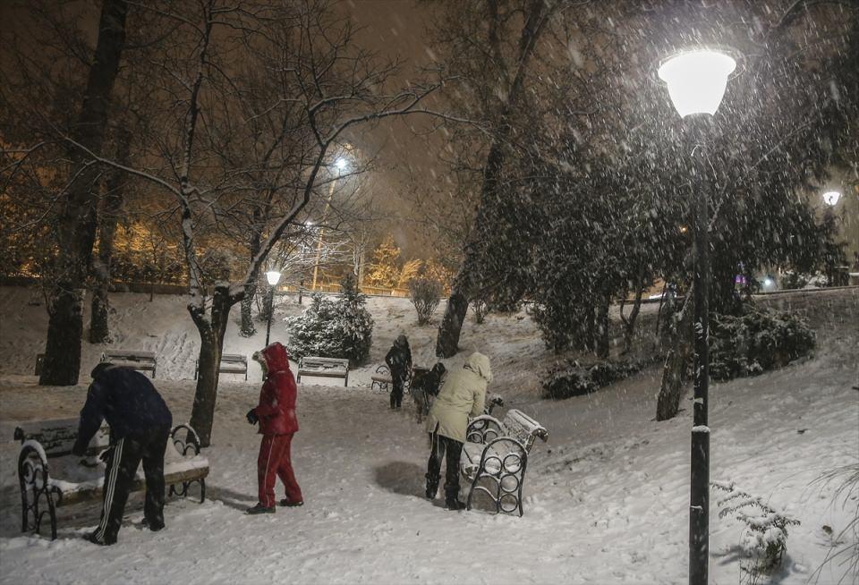 Türkiye'den muhteşem kar manzaraları 14