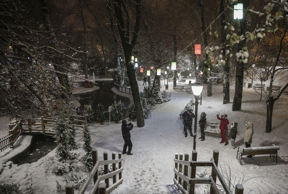 Türkiye'den muhteşem kar manzaraları 15