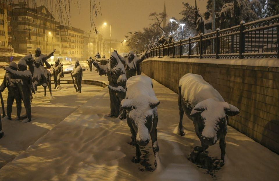 Türkiye'den muhteşem kar manzaraları 21