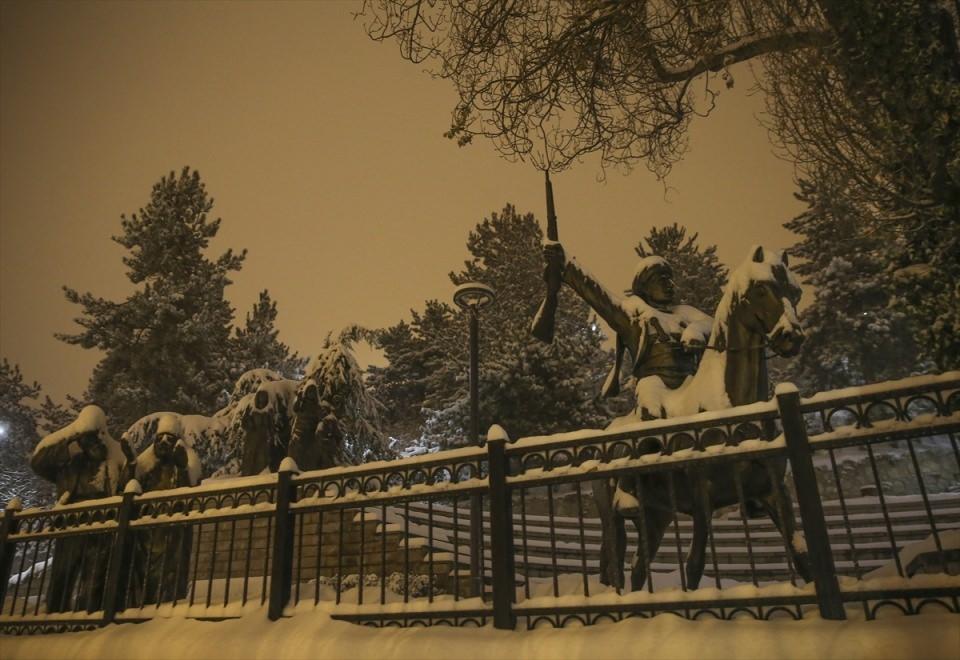 Türkiye'den muhteşem kar manzaraları 22