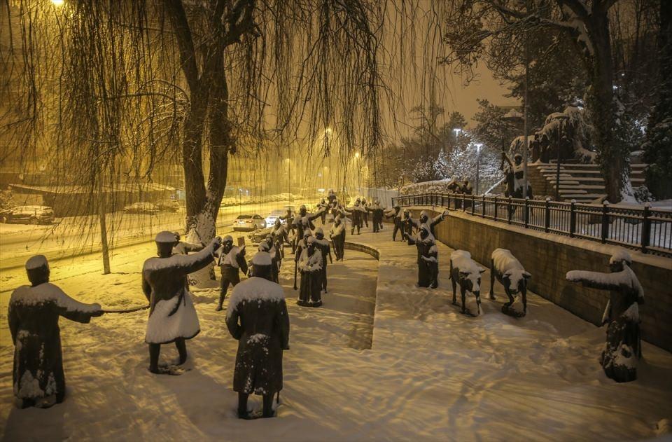 Türkiye'den muhteşem kar manzaraları 26