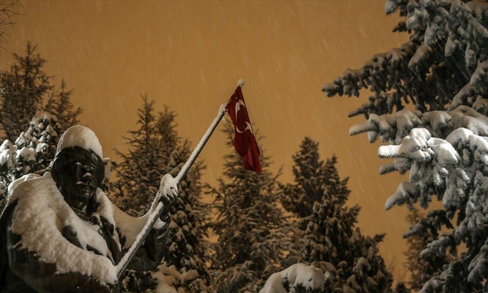 Türkiye'den muhteşem kar manzaraları 27