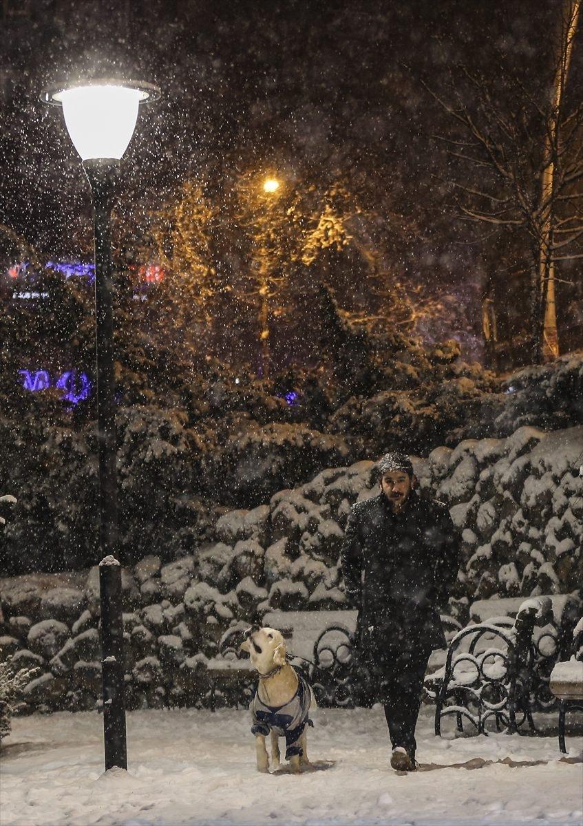 Türkiye'den muhteşem kar manzaraları 3