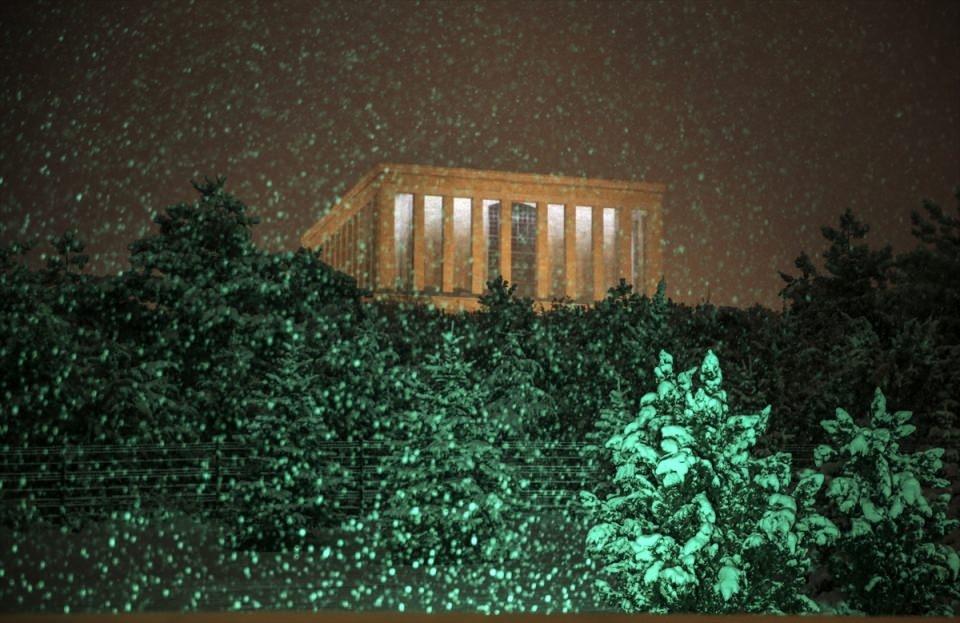 Türkiye'den muhteşem kar manzaraları 30