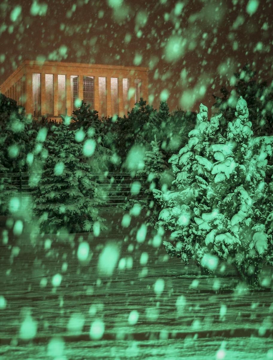Türkiye'den muhteşem kar manzaraları 31