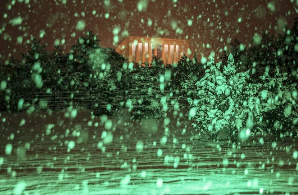 Türkiye'den muhteşem kar manzaraları 32