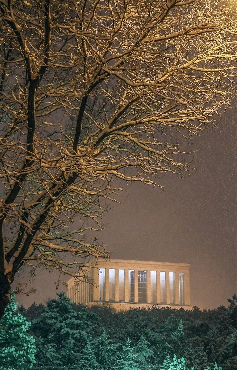 Türkiye'den muhteşem kar manzaraları 33