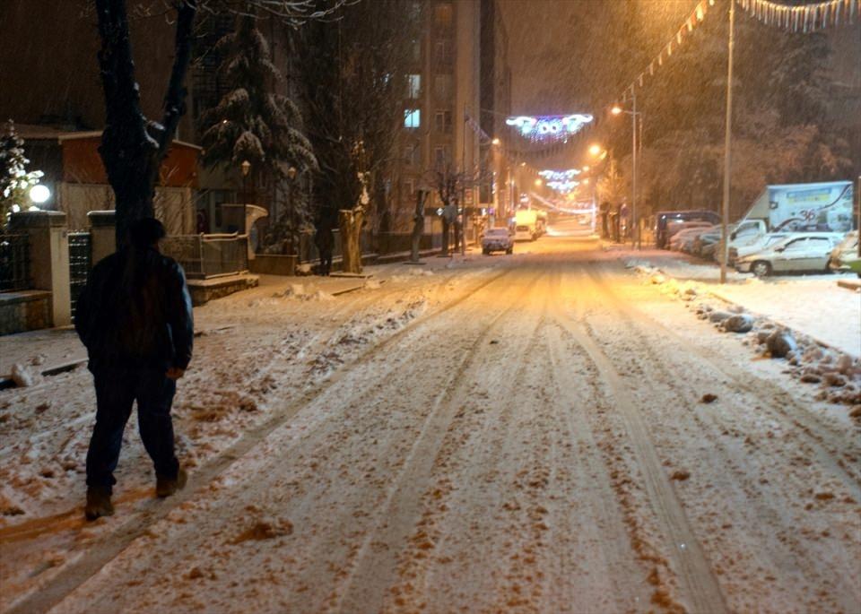 Türkiye'den muhteşem kar manzaraları 36
