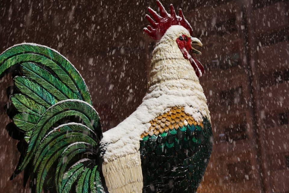 Türkiye'den muhteşem kar manzaraları 37