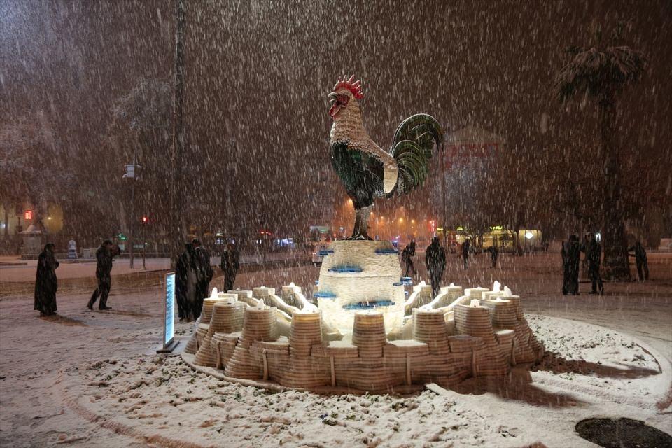 Türkiye'den muhteşem kar manzaraları 39