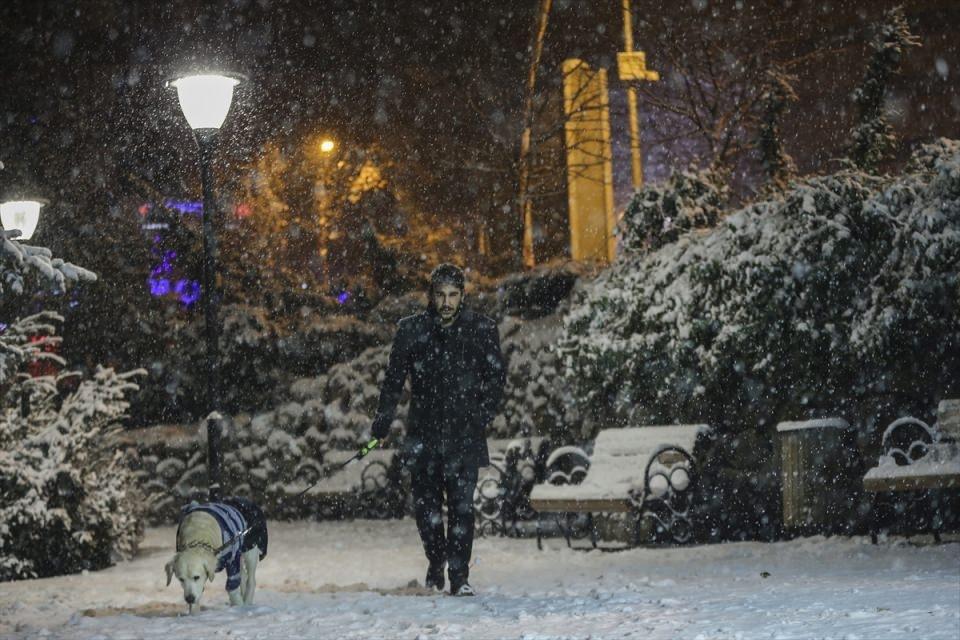 Türkiye'den muhteşem kar manzaraları 4