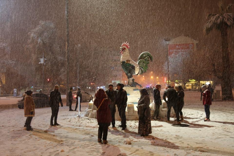 Türkiye'den muhteşem kar manzaraları 40