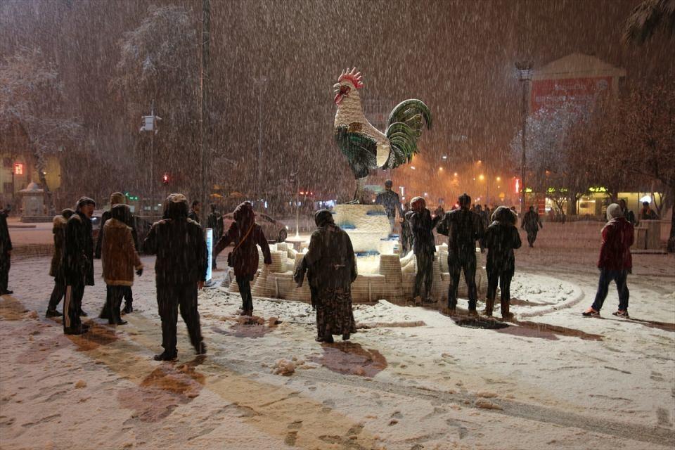 Türkiye'den muhteşem kar manzaraları 41