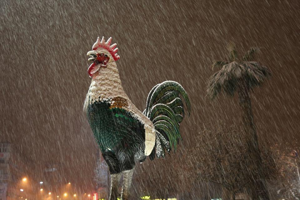 Türkiye'den muhteşem kar manzaraları 43