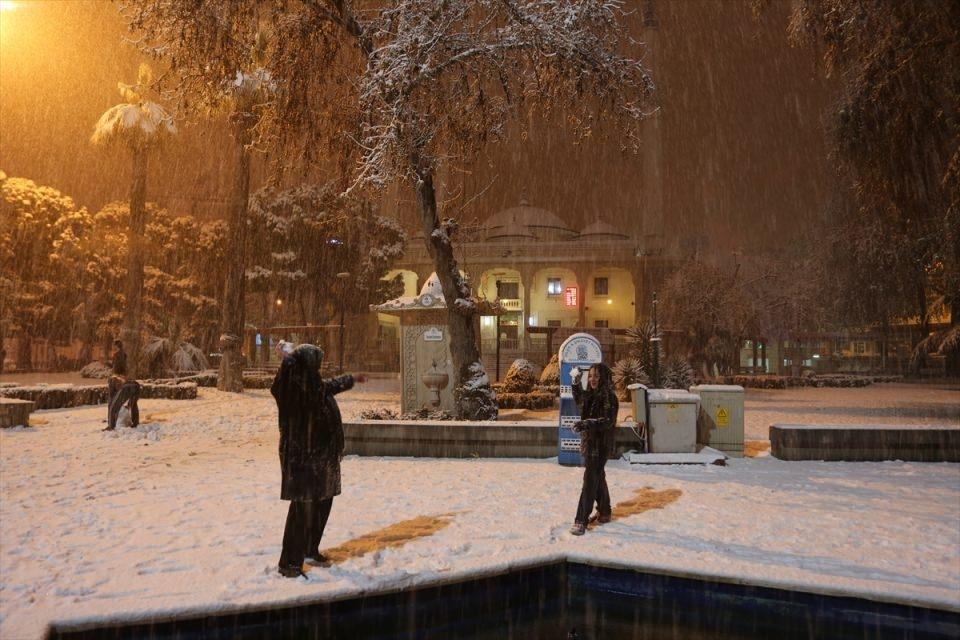 Türkiye'den muhteşem kar manzaraları 46