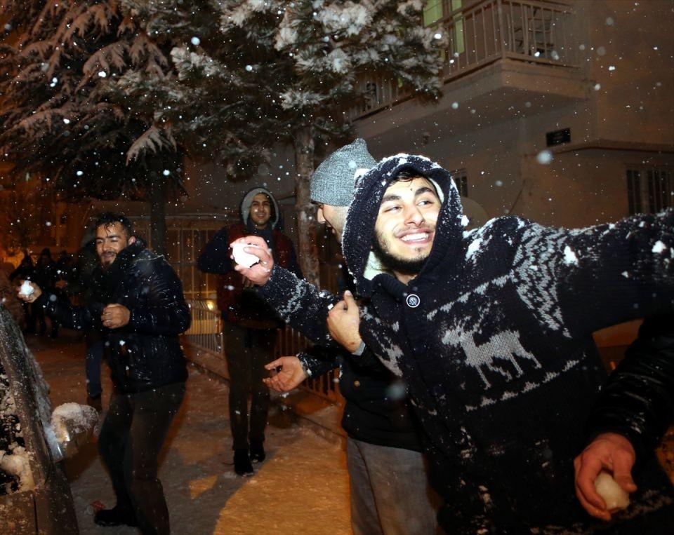 Türkiye'den muhteşem kar manzaraları 48
