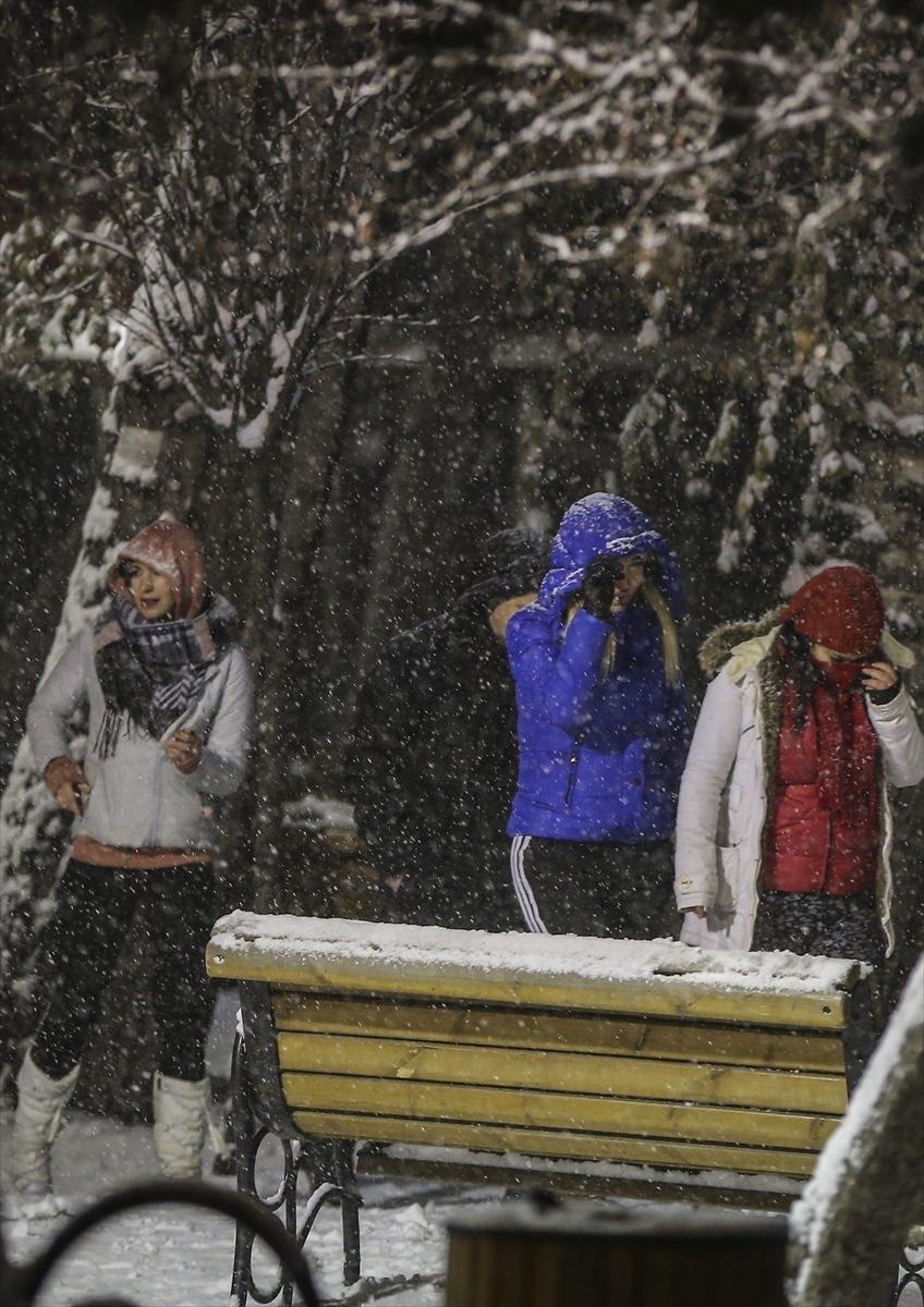 Türkiye'den muhteşem kar manzaraları 5