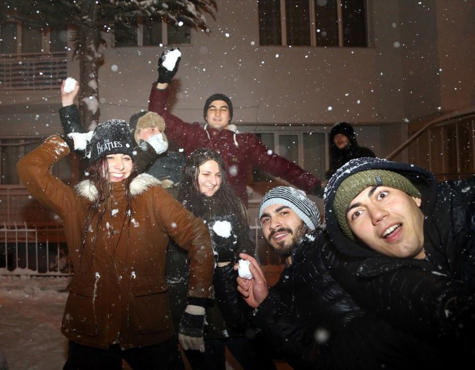 Türkiye'den muhteşem kar manzaraları 50