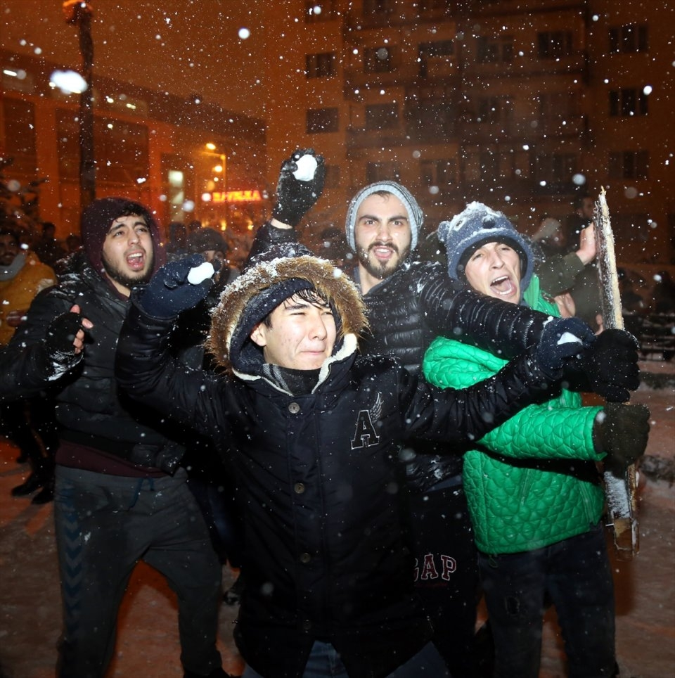 Türkiye'den muhteşem kar manzaraları 51
