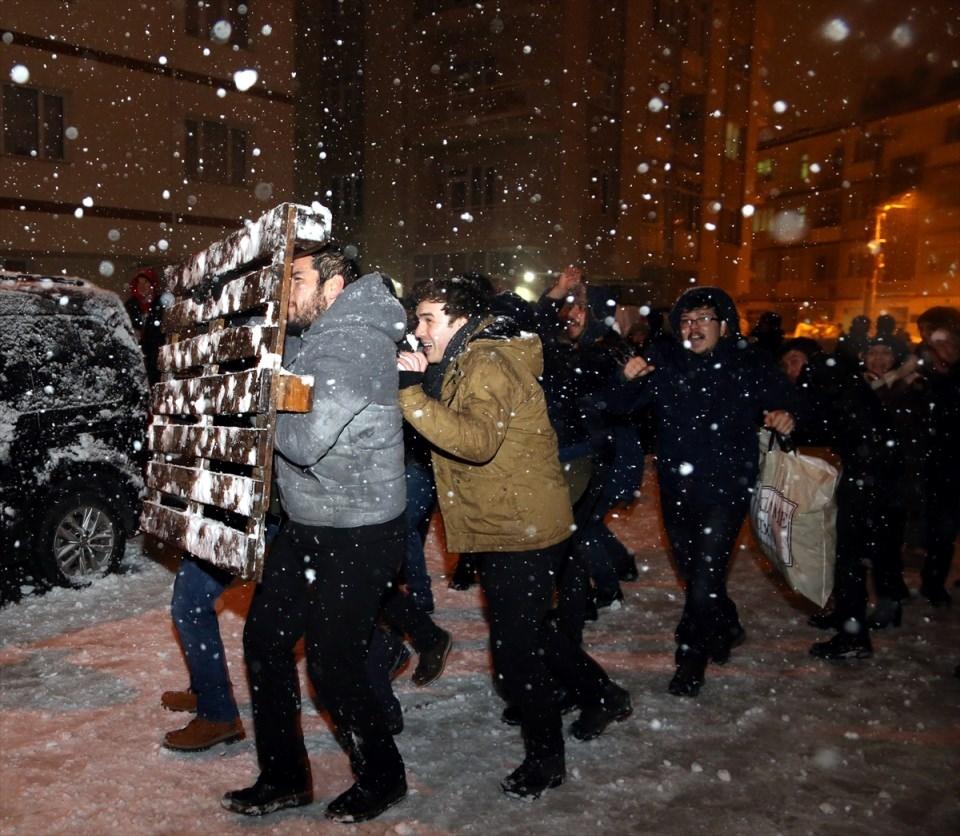 Türkiye'den muhteşem kar manzaraları 52