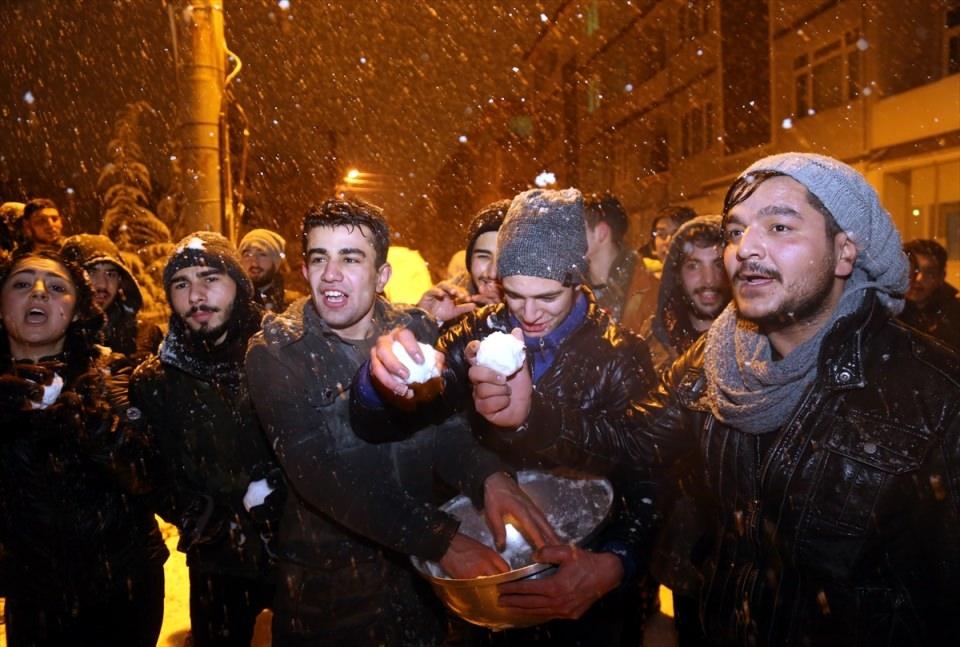 Türkiye'den muhteşem kar manzaraları 53