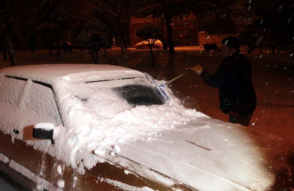 Türkiye'den muhteşem kar manzaraları 54