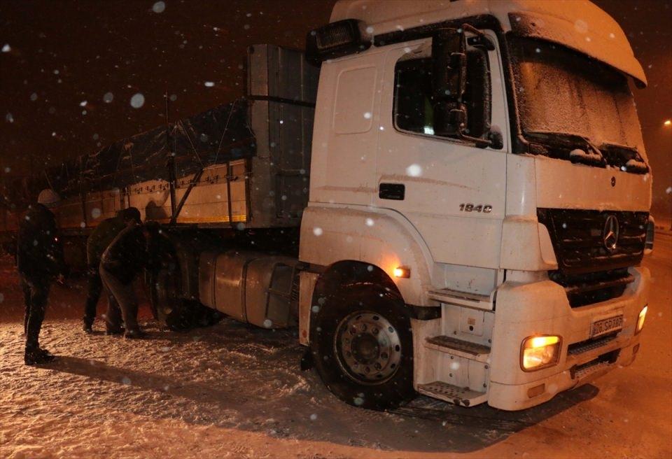 Türkiye'den muhteşem kar manzaraları 57