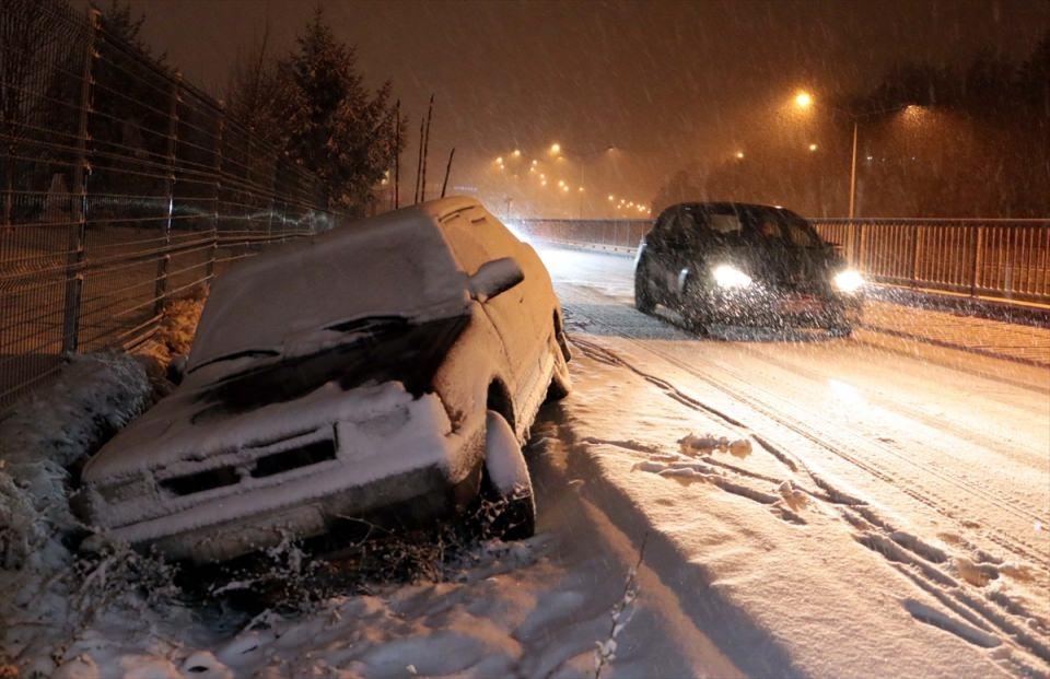 Türkiye'den muhteşem kar manzaraları 58