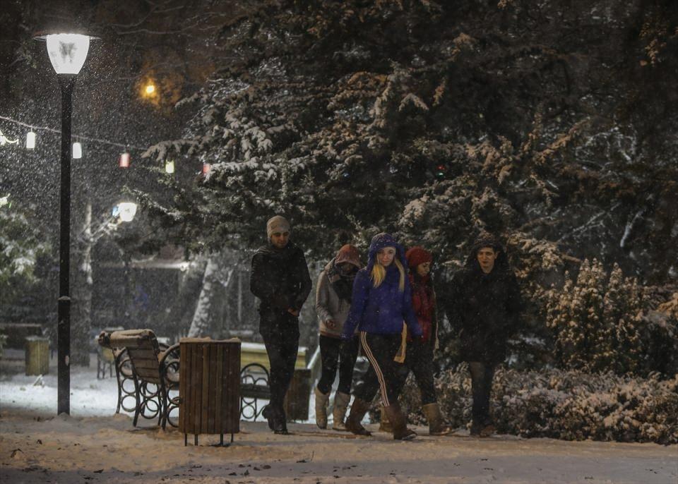 Türkiye'den muhteşem kar manzaraları 6