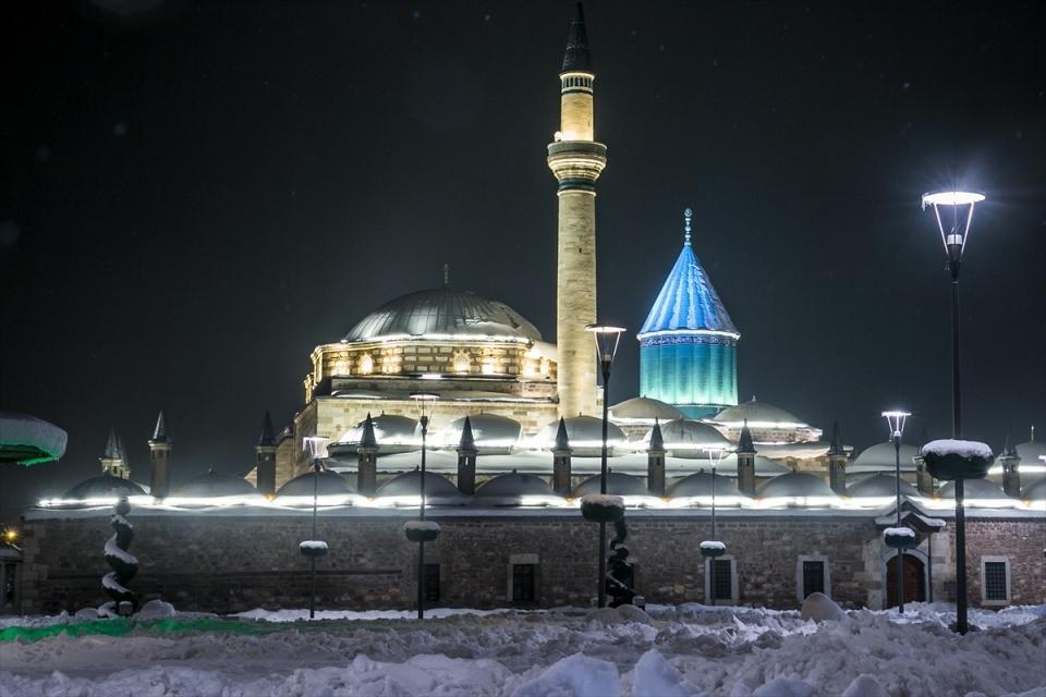 Türkiye'den muhteşem kar manzaraları 61