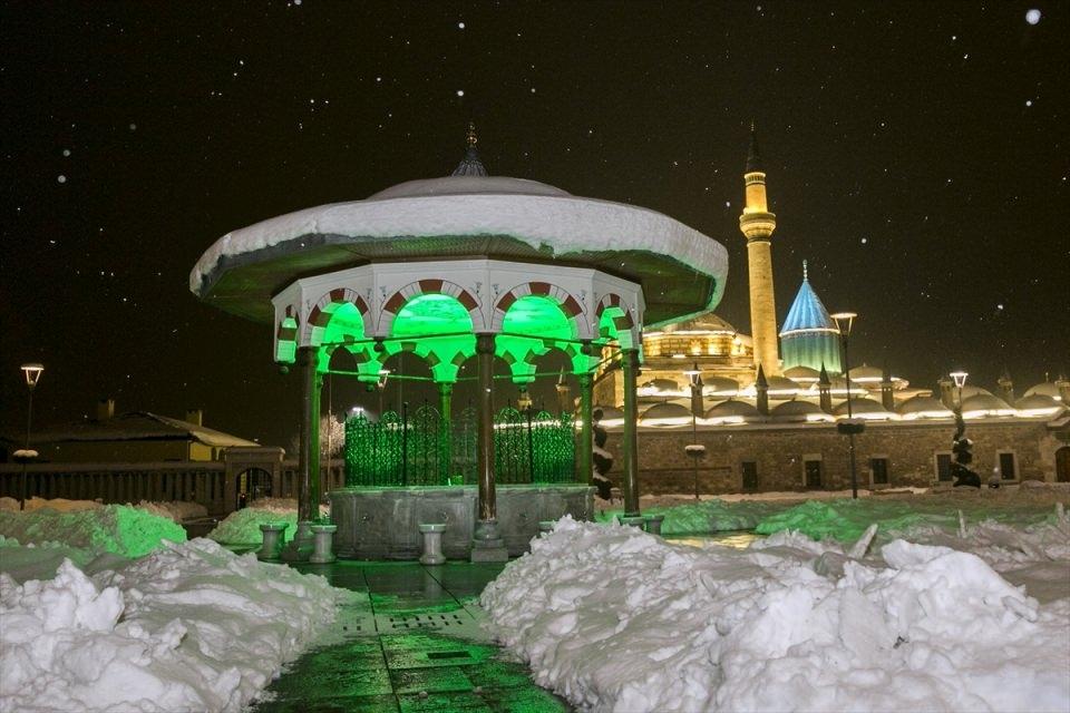 Türkiye'den muhteşem kar manzaraları 62