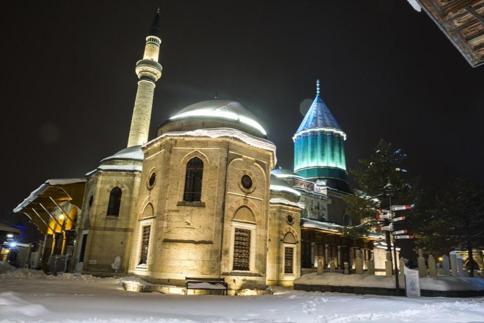 Türkiye'den muhteşem kar manzaraları 64