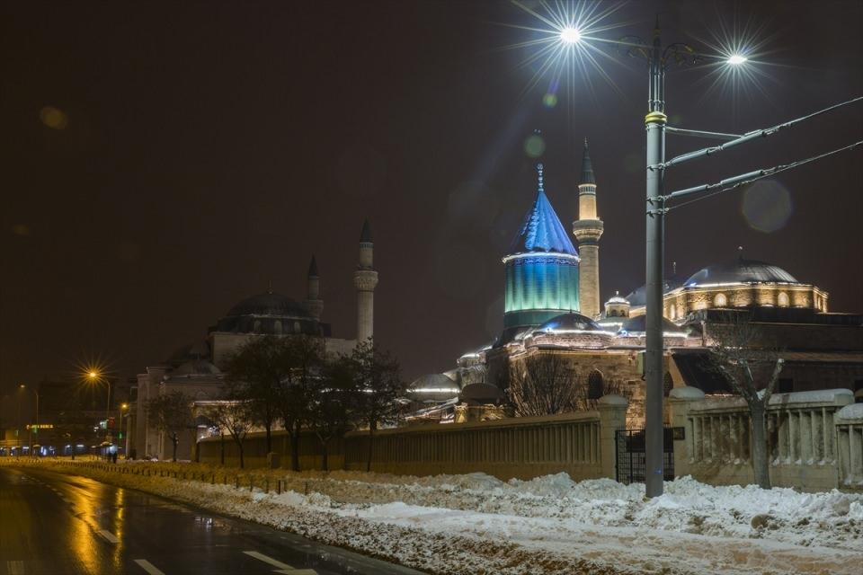 Türkiye'den muhteşem kar manzaraları 66