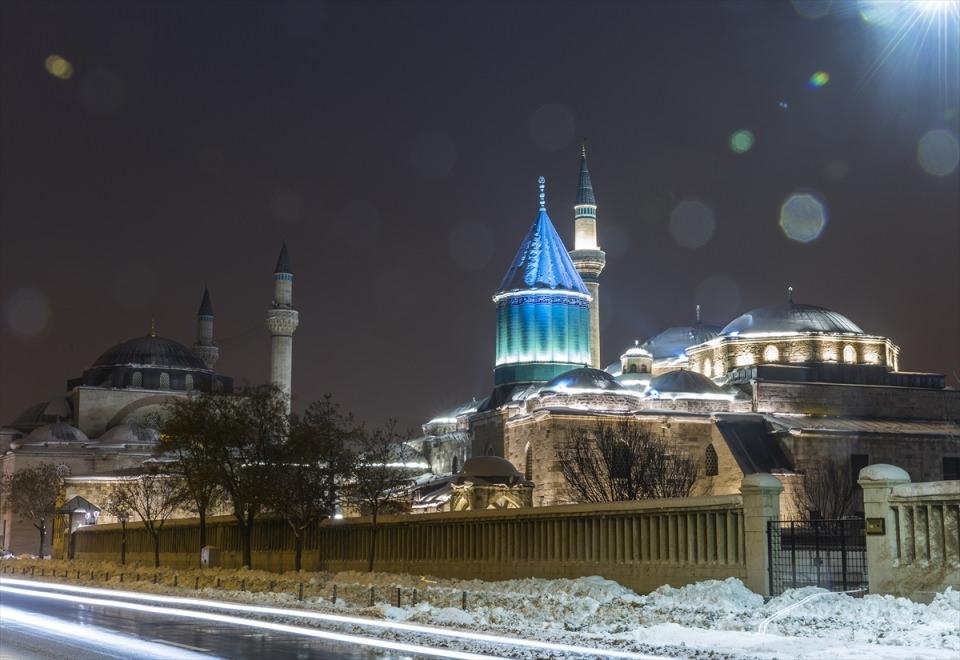 Türkiye'den muhteşem kar manzaraları 67