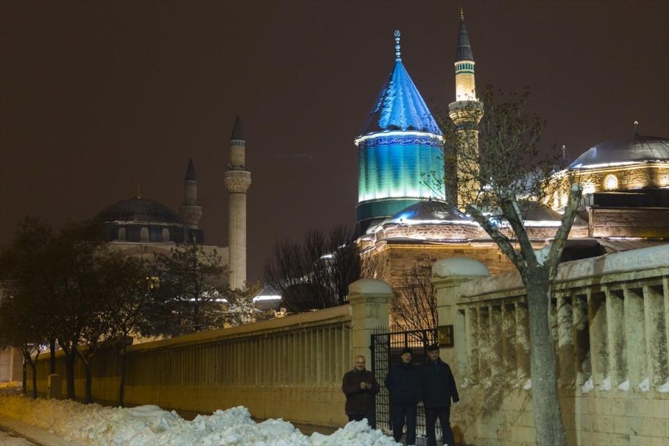 Türkiye'den muhteşem kar manzaraları 68
