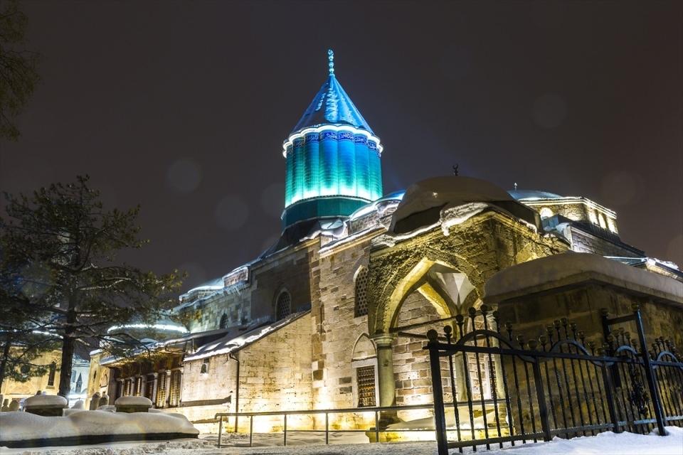 Türkiye'den muhteşem kar manzaraları 69