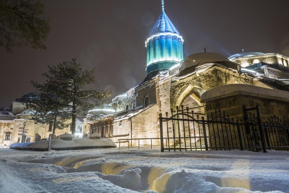 Türkiye'den muhteşem kar manzaraları 71