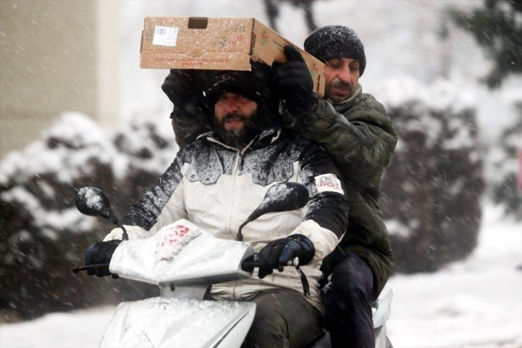Türkiye'den muhteşem kar manzaraları 73