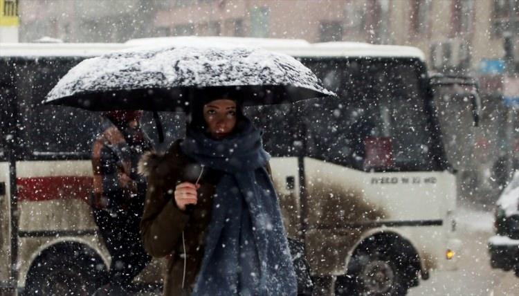 Türkiye'den muhteşem kar manzaraları 74