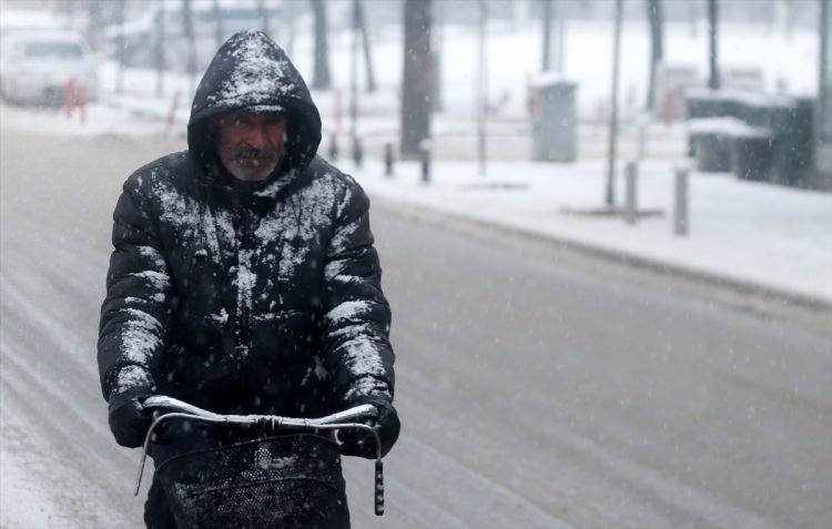 Türkiye'den muhteşem kar manzaraları 75